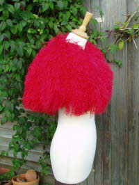 Red Mongolian Sheepskin