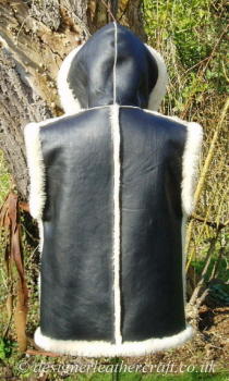 The Hooded Gilet has Extended Shoulders and a Good 27 inch Back Length